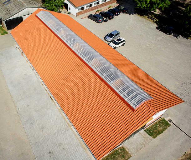 Belichtung und Belüftung von oben: »Rhenalux« von FDT. Bild: FDT