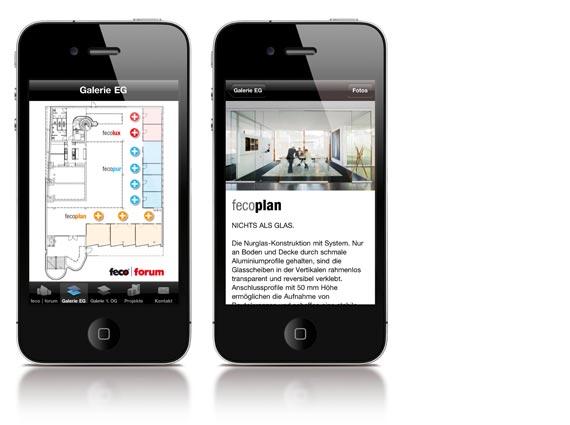 iphone und ipad App zum Feco-Forum in Karlsruhe