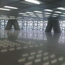 Lindner NORTEC Doppelboden im Burj Qatar