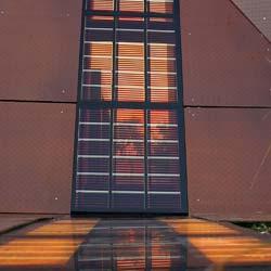 gebäudeintegrierte Photovoltaik