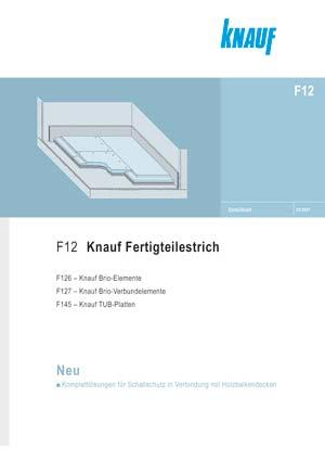 Knauf Brio Fertigteilestrich im Detailblatt F12.de