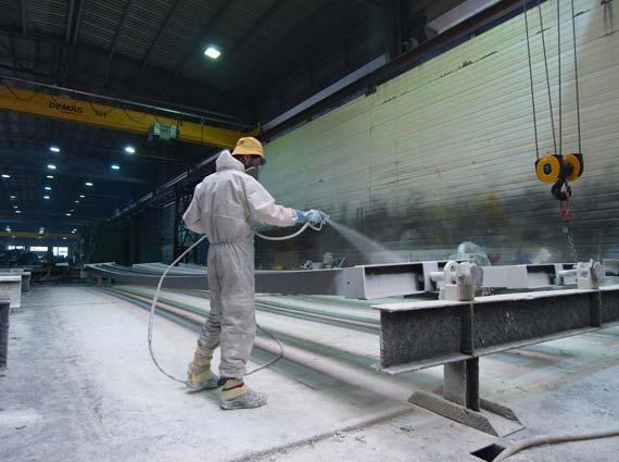 Sika Unitherm platinum setzt neue Massstäbe beim Brandschutz im Stahlbau