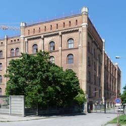 Verbundträger Deltabeam von Peikko - Arsenal Wiener Südbahnhof