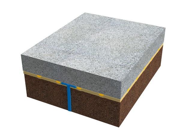 Die Grid-Seal-Technologie garantiert den umfassenden Hinterlaufschutz: Die Dichtungsmembran ist mit einer gitternetzartigen Struktur geprägt, die mit einem speziellen Dichtstoff gefüllt ist. Im Falle ihrer Beschädigung wird das Wasser innerhalb eines kleinen Teilbereichs gehalten und kann die Dichtungsbahn nicht hinterwandern.