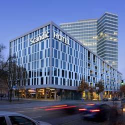 Schindler Aufzüge Scandic Hotel Hamburg