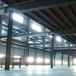 Stahlbauhalle mit Spezialdämmung