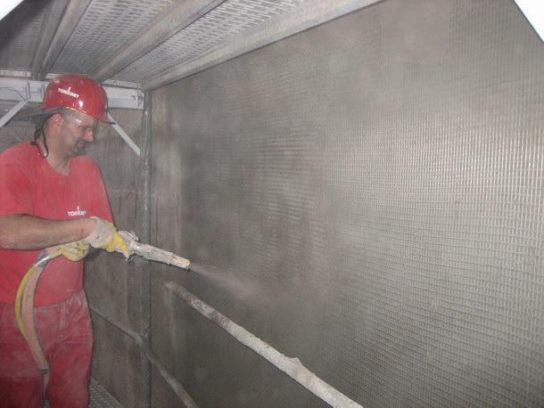 Instandsetzung, textilbewehrt, Beton, Sanierung, Zuckersilo, Uelzen, Frass