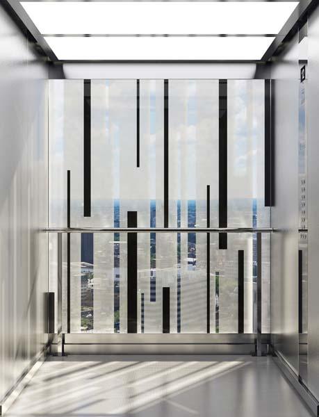 Im Vergleich zur zweiten Generation maschinenraumloser »MonoSpace« Aufzüge erreicht der »MonoSpace 500« eine noch höhere Energieeffizienz von rund 35 Prozent.