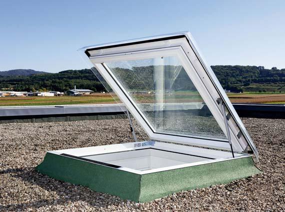 Ausstiegsfenster »CXP Flachdach« von Velux