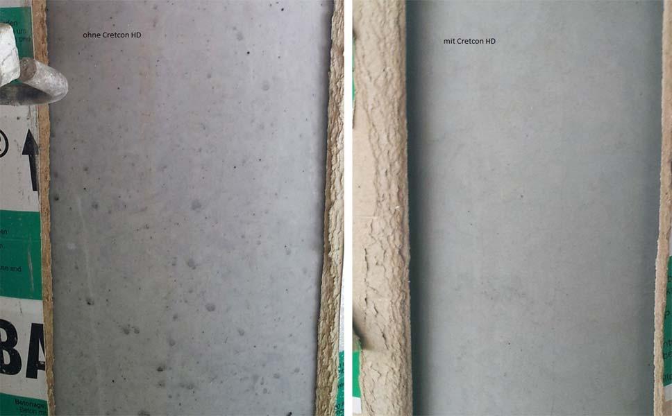 Sichtbeton Schalrohr RAPIDOBAT Cretcon HD von der H-BAU Technik