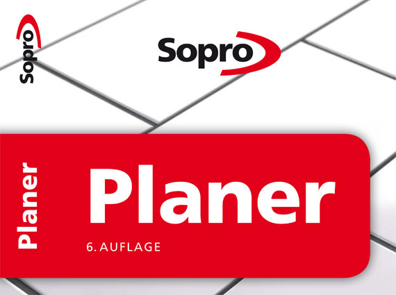 Der Sopro Planer ist ein anerkanntes Nachschlagewerk für Bauingenieure und Planer