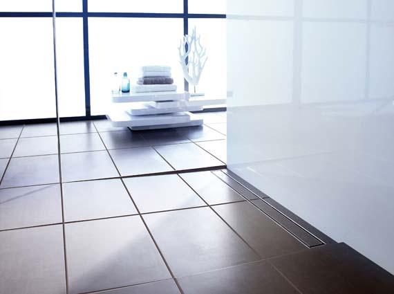 Die Duschrinne hat in den letzten Jahren enorm an Popularität gewonnen. Seal System schließt hier eine Normenlücke, die zwischen Produkten aus der Bauchemie und der Haustechnik klafft.