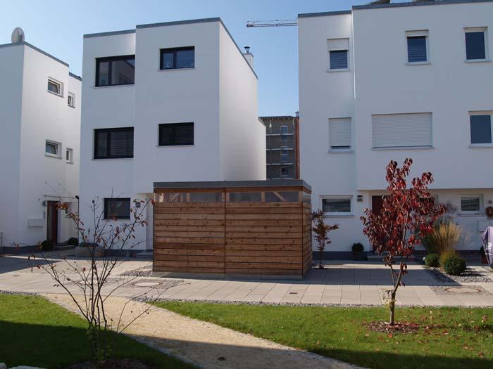 Hohe Nachfrage: Das Interesse von Käufern an den Wohnhäusern und Eigentumswohnungen ist seit Baubeginn 2009 stetig gewachsen. Foto: UNIPOR, München