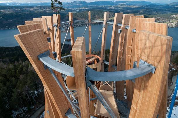 Für die Tragwerksplanung war der konstruktive Holzschutz zentrales Thema