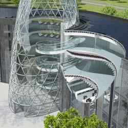 EcoCommercial Building Programm entwirft nachhaltigen Bürokomplex