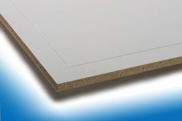 Miprotec M-Brandschutzplatten sind in verschiedenen Dicken erhältlich. Eine Spachtelkante und die Papierkaschierung ermöglichen die unmittelbare Endbehandlung. Foto: Techno-Physik Eng. GmbH