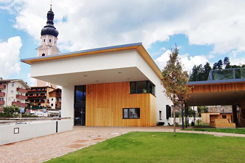 Musikprobelokal, Kastelruth (I), Foto: Rubner Holzbau