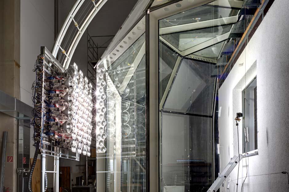 »Fluidglass«-Prototyp der TU München, Foto: Sven Beham