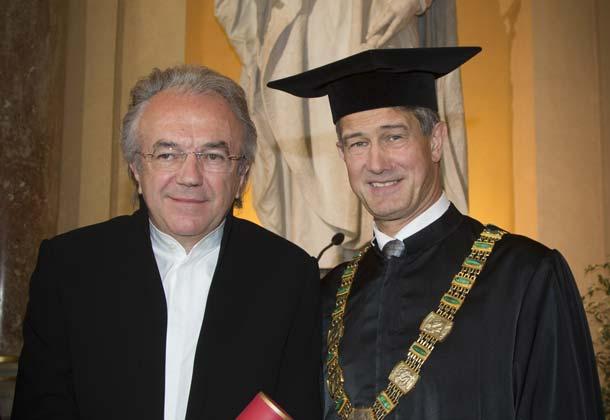Werner Sobek erhält Ehrendoktorwürde der TU Graz