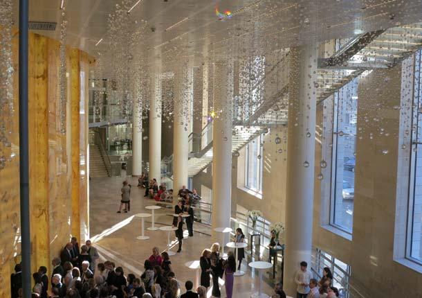 Das Mariinsky-Theater verdankt seine hervorragende Akustik CEton-Sichtbetonelementen aus