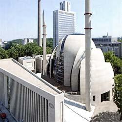 Zentralmoschee Köln Dyckerhoff Sichtbeton