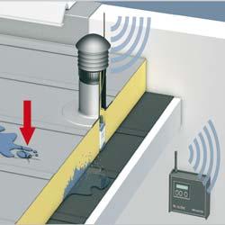 Flachdach Monitoring