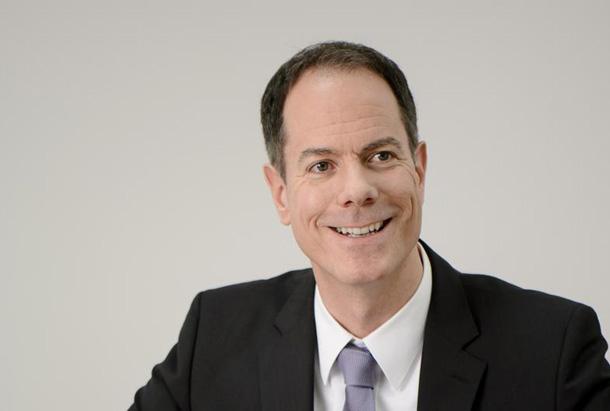 Mike Riegler, Geschäftsführer der PMG Projektraum Management GmbH, informiert über den »Projektraum«