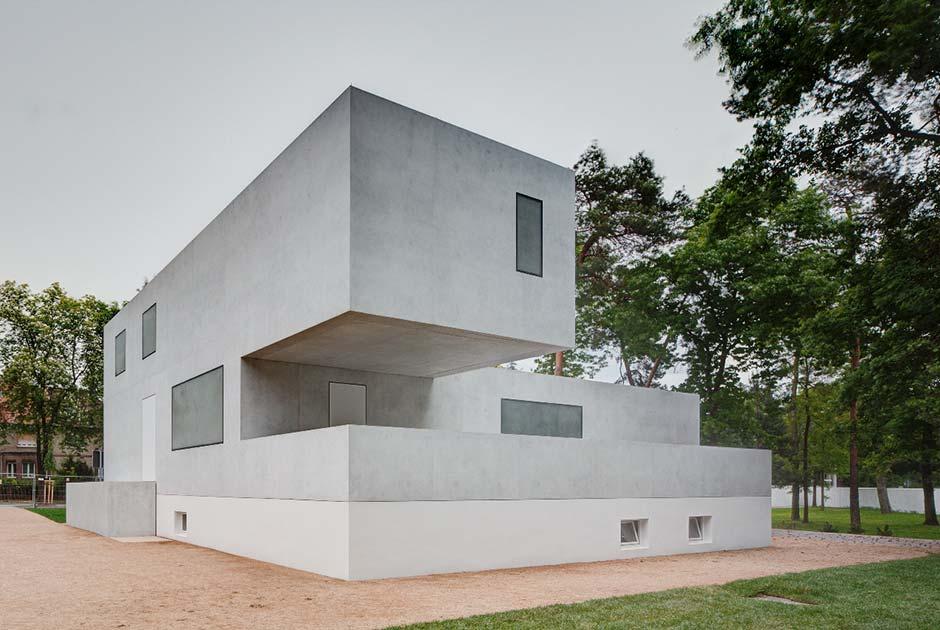Das neue Meisterhaus Gropius, Bruno Fioretti Marquez Architekten, 2010-2014. Foto: Christoph Rokitta, 2014, Stiftung Bauhaus Dessau