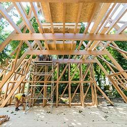 Atelier Bow Wow und ConstructLab bauen Pavillon in Darmstadt
