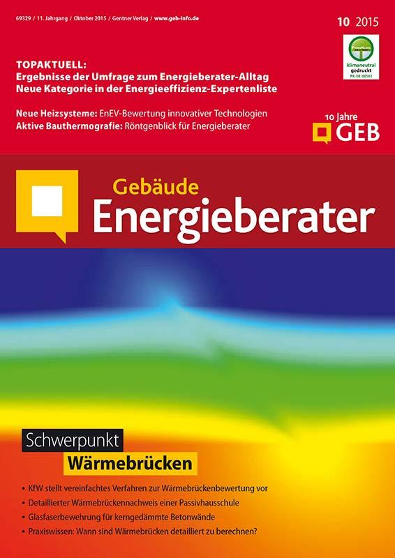 Fachzeitschrift Gebäude-Energieberater