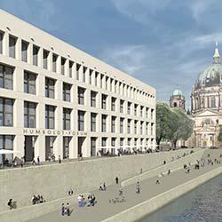 Dyckerhoff Weiss: Architekturbeton-Fassade des Berliner Schlosses