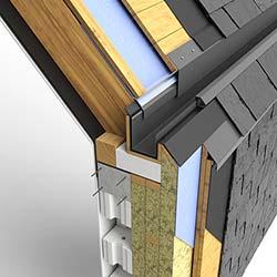 Rathscheck Schieferdetails für Dach und Fassade