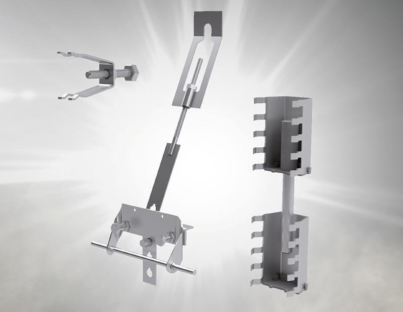 Das Halfen Befestigungssystem FPA-SL30 für dünne, großformatige Fassadenplatten ist seit Ende 2018 bauaufsichtlich zugelassen. Foto: Halfen GmbH