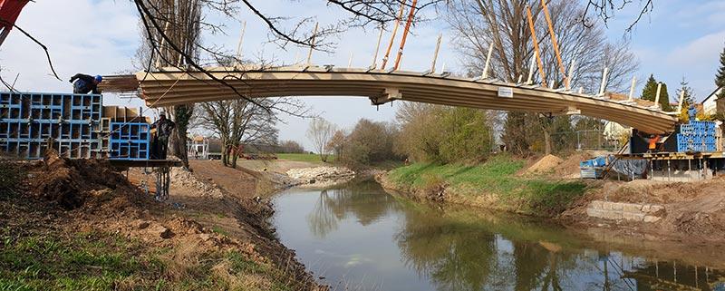Stuttgarter Holzbrücke
