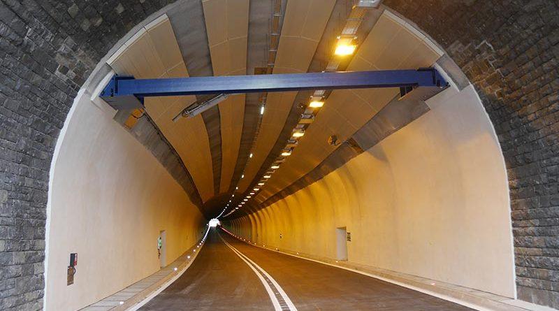 Der Tunnel Dürnstein in Niederösterreich ist 472 Meter lang. Foto: Dyckerhoff