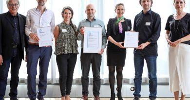Finalisten der Kategorie Forschung. Bild: DGNB