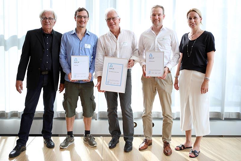 Finalisten der Kategorie Start-up. Bild: DGNB