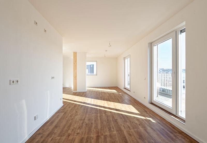 Die Gebäude verfügen insgesamt über 42 helle und moderne Wohneinheiten. Foto: Brüninghoff