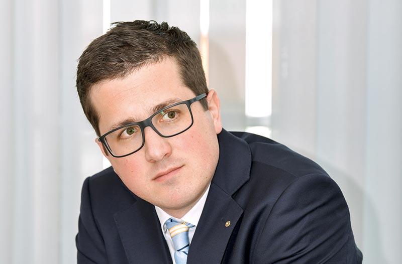 Prof. Dr.-Ing. Eric Brehm. Foto: DGfM