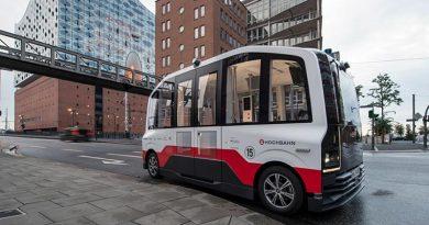 Hamburg: Autonomer Shuttlebus startet Probebetrieb. Foto: HOCHBAHN Hamburg