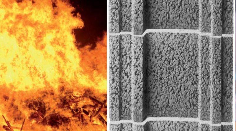Vor Feuer geschützt: Nicht brennbarer Leichtbeton verschafft Bewohnern sowie Rettungskräften im Brandfall genügend Zeit, das Gebäude sicher zu verlassen. Foto: KLB Klimaleichtblock