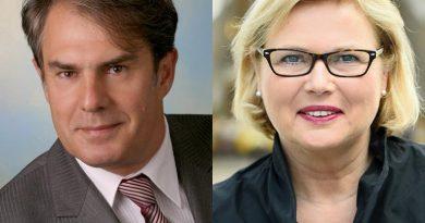 Prof. Josef Steretzeder und Prof. Dr.-Ing. Anke Karmann-Woessner