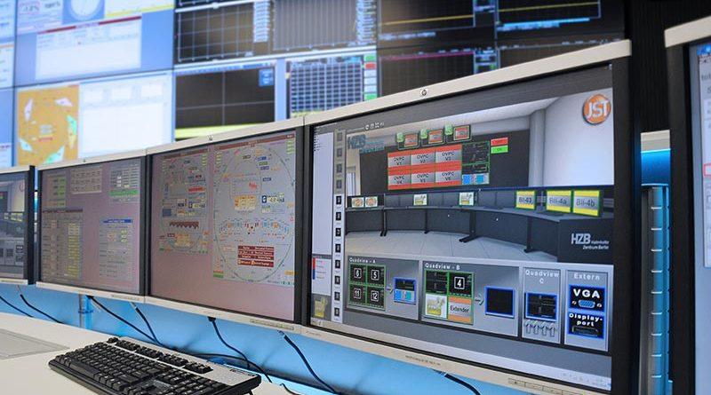 MultiConsoling korreliert Monitore, das heißt, der Anlagenfahrer kann seine Displays frei belegen. Er schaltet sich immer die Anzeige auf einem der eigenen Bildschirme auf, die er gerade braucht. Quelle: Jungmann Systemtechnik