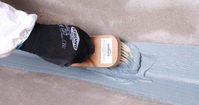 Die multifunktionale Bauwerksabdichtung MB 2K von Remmers dient nicht nur zur Abdichtung gegen Feuchtigkeit, sondern auch als radondichte Sperrschicht. Bildquelle: Remmers, Löningen