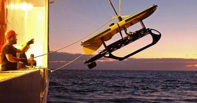 Meeresforschung ist per se international und erfordert modernste Technologie. Foto: Jan Steffen, GEOMAR
