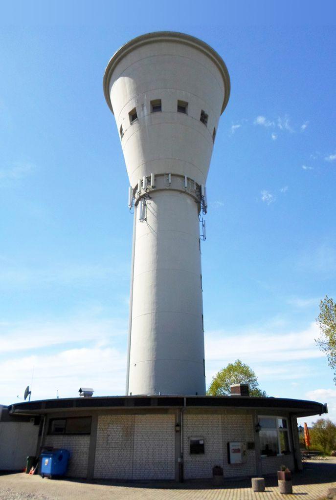 Bei der Sanierung des Borkener Wasserturms kam der Reparaturmörtel StoCrete TG 203 zum Einsatz. Foto: GSB Haungs GmbH