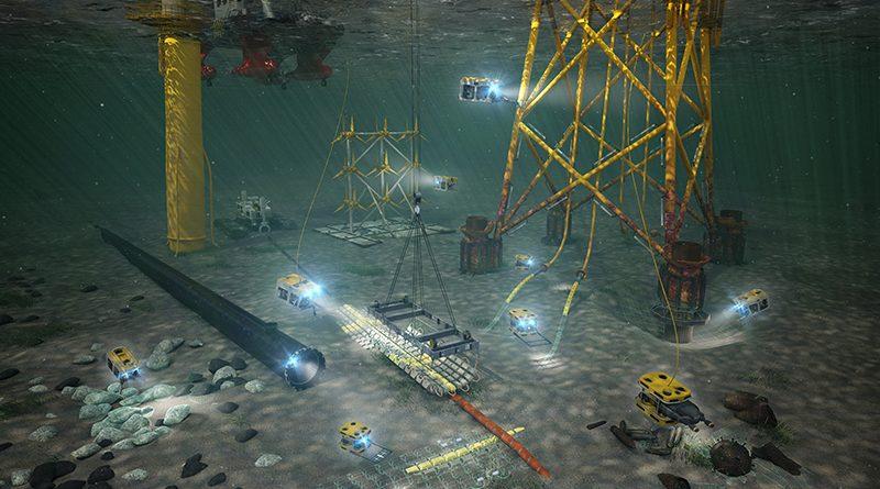 Die neue küstennahe Infrastruktur des »Digital Ocean Lab« (DOL) ermöglicht die Entwicklung und Erprobung von Unterwassertechnik unter realen Bedingungen im Meer. Vorgesehen sind verschiedene Unterwassertestfelder, mit denen die komplette Bandbreite der Einsatzmöglichkeiten unter Wasser abgedeckt werden soll. Bild: Fraunhofer IGD