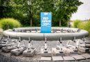 Filigran aber robust: Nur drei Zentimeter dick sind die Wände der Betonröhre aus ultrahochfestem Beton. Die HeidelbergCement AG unterstützte mit ihrer Expertise in Betontechnologie und dem Produkt Effix Plus, einem Compound für ultrahochfeste Betone. Bildquelle: TUM Hyperloop