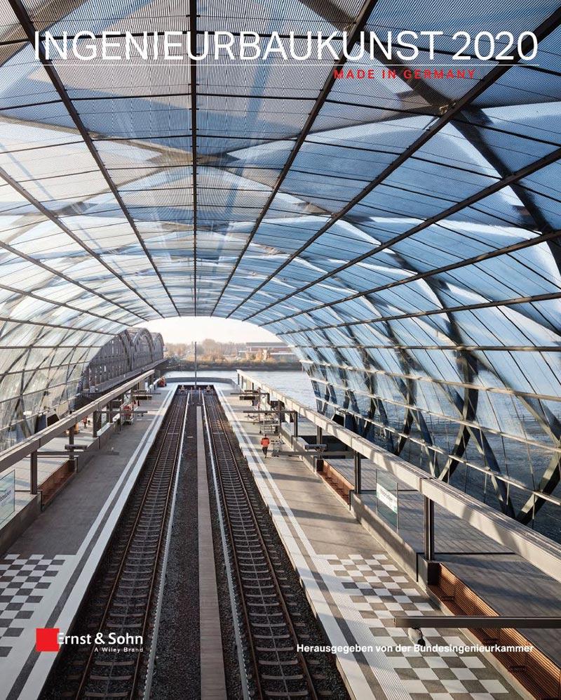 Das neue Jahrbuch Ingenieurbaukunst 2020 - Made in Germany ist erschienen. Foto: Ernst & Sohn