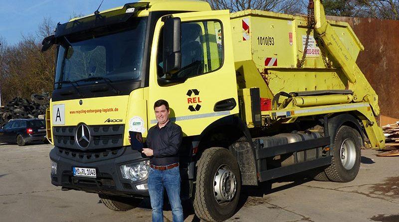 REL GmbH: Recyclingunternehmen stellt vier Standorte um auf klimaschonenden Ökostrom